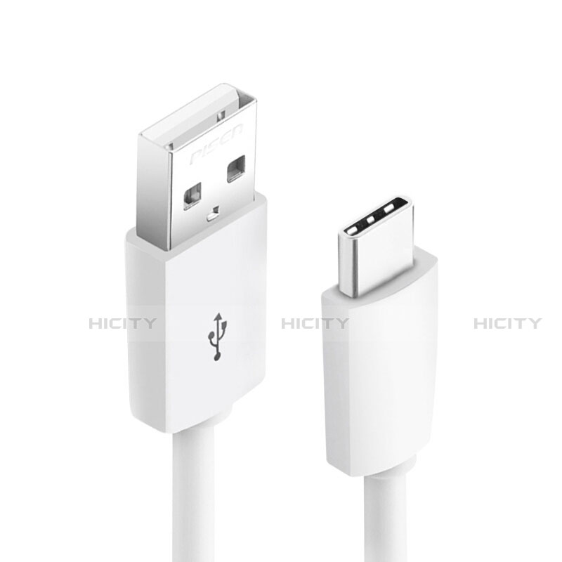 Cable Type-C Android Universel T18 Blanc Plus