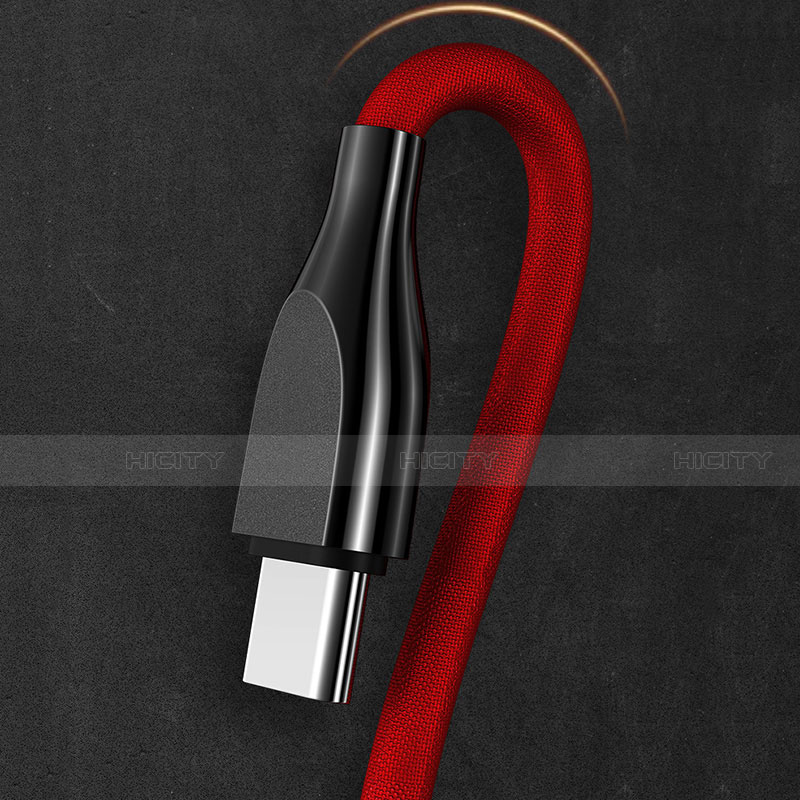 Cable Type-C Android Universel T21 Rouge Plus