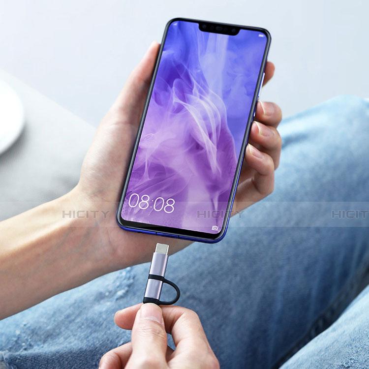 Cable Type-C et Mrico USB Android Universel T03 Noir Plus