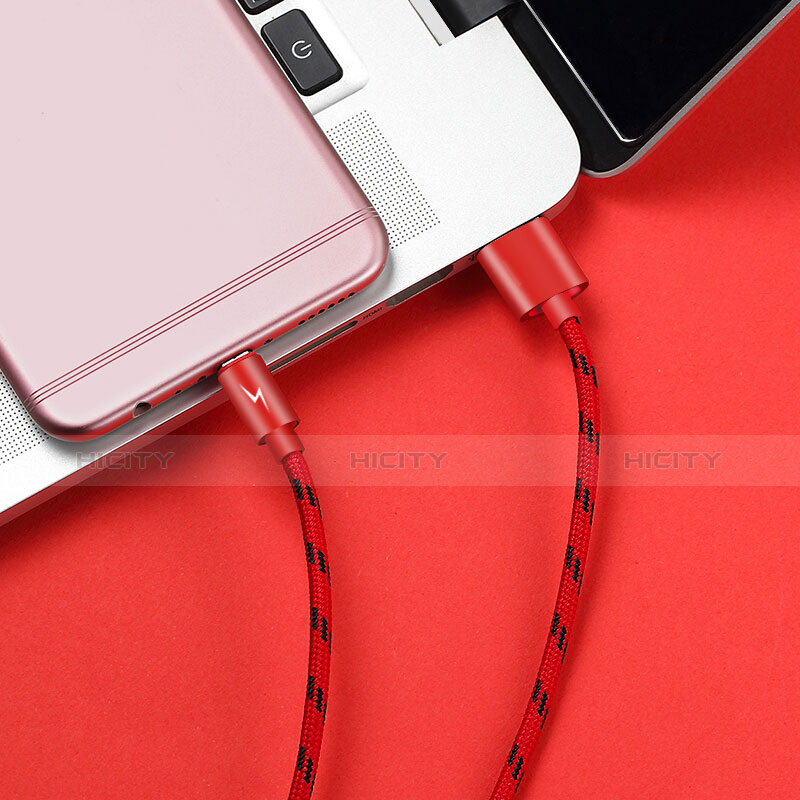 Cable USB 2.0 Android Universel A03 Rouge Plus