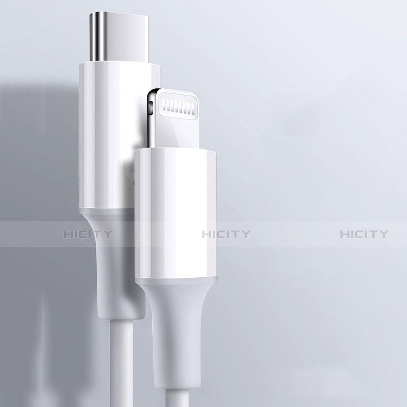 Chargeur Cable Data Synchro Cable C02 pour Apple iPhone 11 Blanc Plus