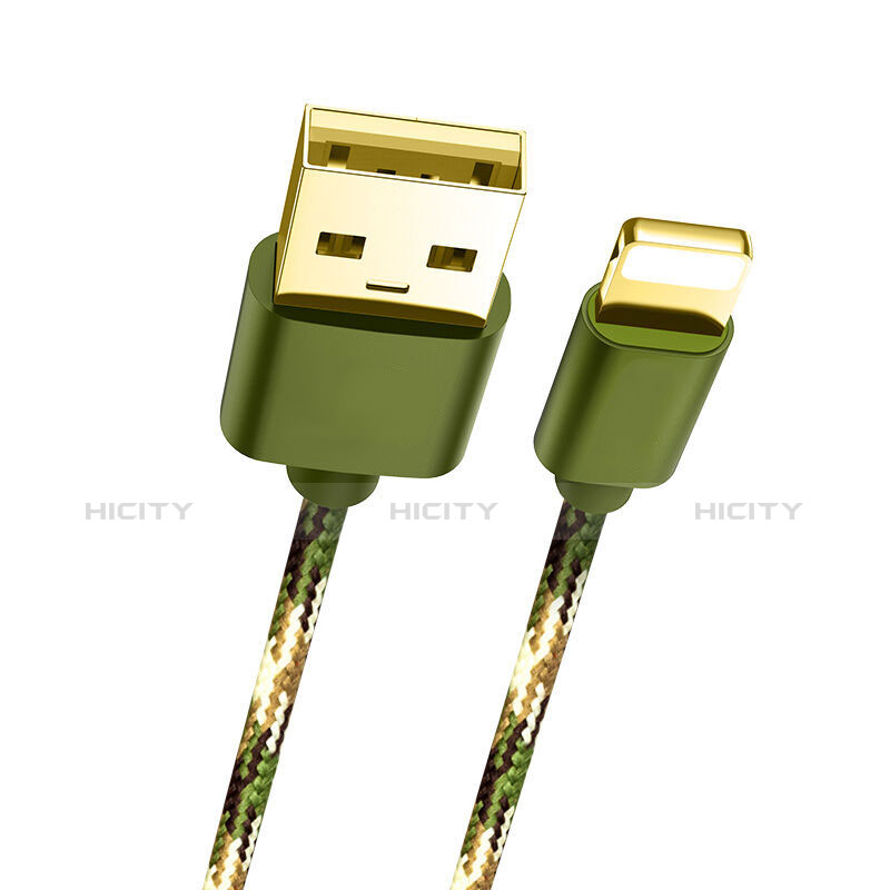 Chargeur Cable Data Synchro Cable L03 pour Apple iPhone 11 Vert Plus