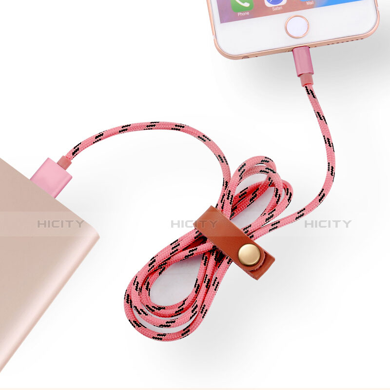Chargeur Cable Data Synchro Cable L05 pour Apple iPhone 11 Rose Plus