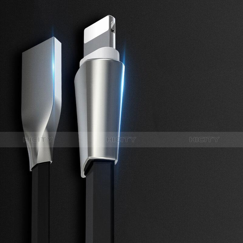 Chargeur Cable Data Synchro Cable L06 pour Apple iPhone 11 Pro Noir Plus