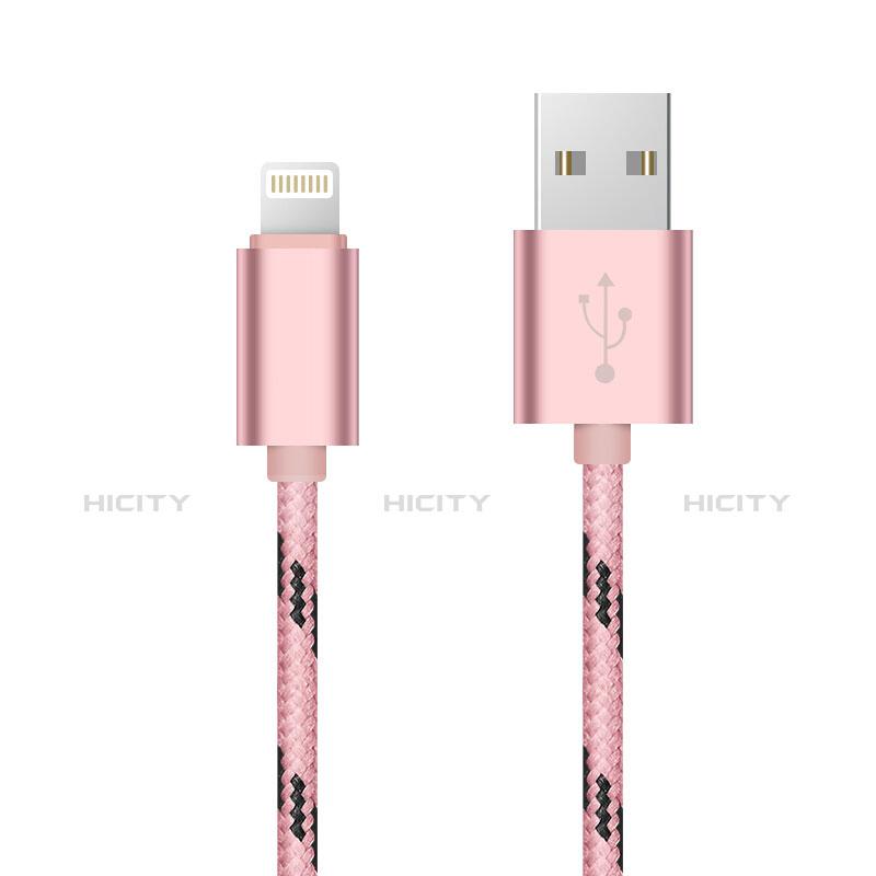 Chargeur Cable Data Synchro Cable L10 pour Apple iPhone 11 Pro Rose Plus