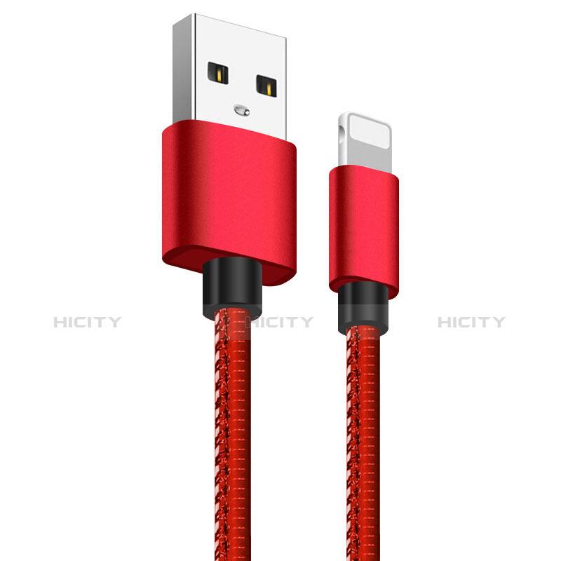Chargeur Cable Data Synchro Cable L11 pour Apple iPhone 11 Pro Rouge Plus