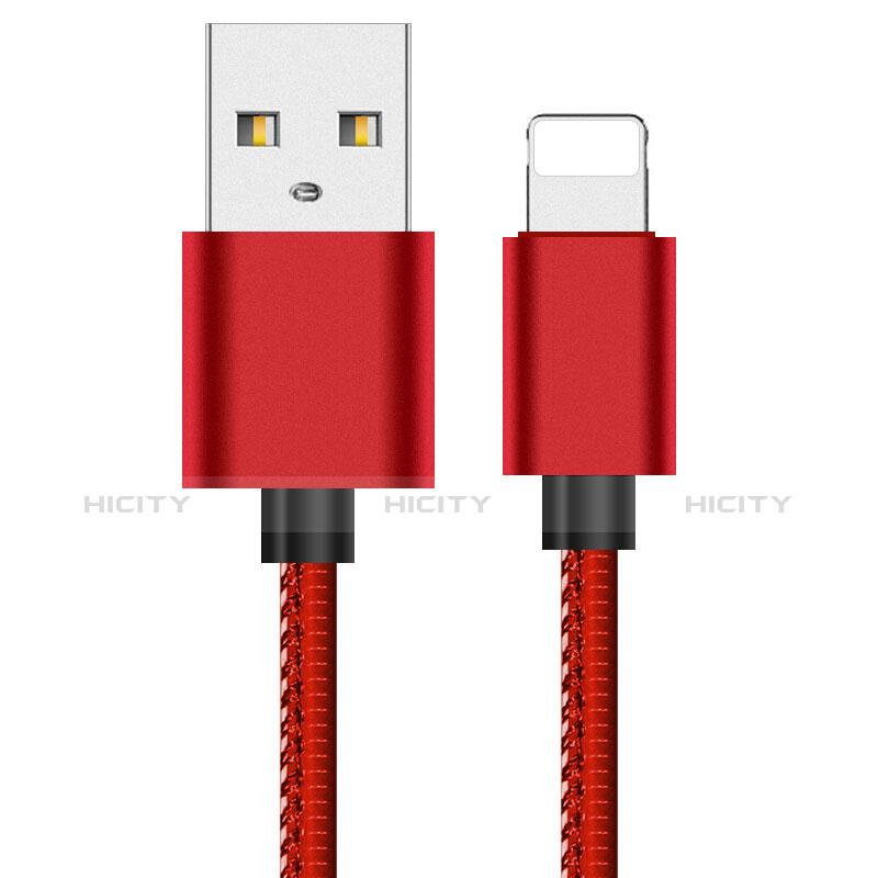 Chargeur Cable Data Synchro Cable L11 pour Apple iPhone 11 Rouge Plus