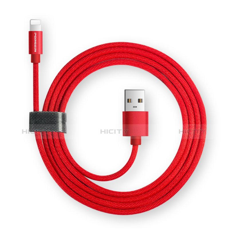Chargeur Cable Data Synchro Cable L14 pour Apple iPhone 11 Pro Noir Plus