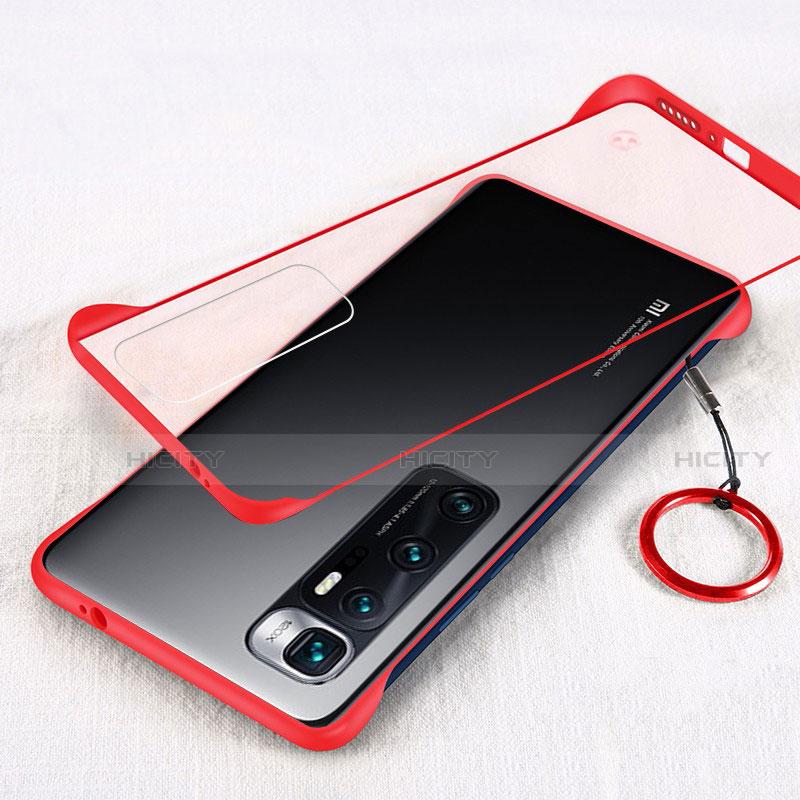 Coque Antichocs Rigide Transparente Crystal Etui Housse H01 pour Xiaomi Mi 10 Ultra Rouge Plus