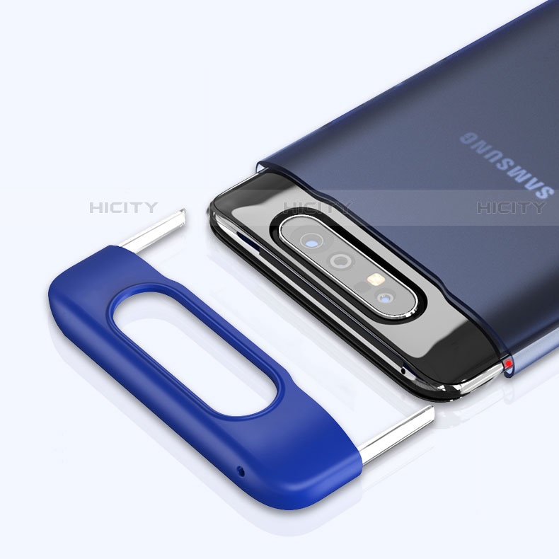 Coque Antichocs Rigide Transparente Crystal Etui Housse H02 pour Samsung Galaxy A80 Plus