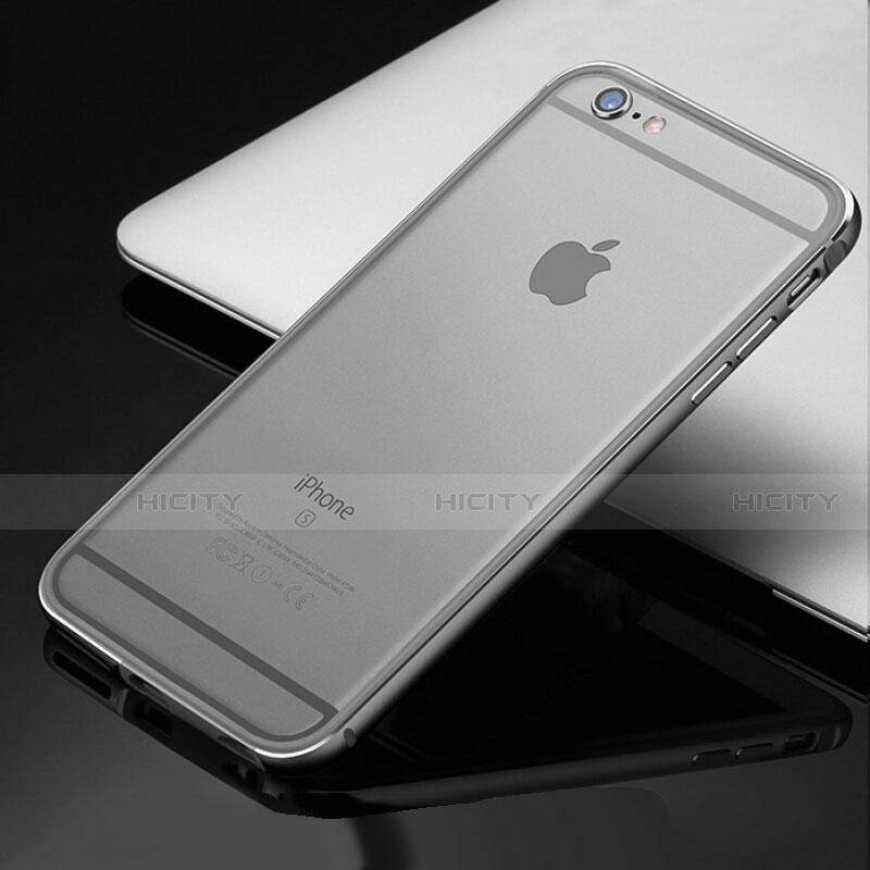 coque bumper luxe aluminum metal etui pour apple iphone 6s plus 8
