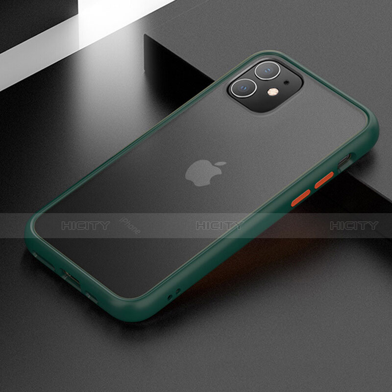 coque contour silicone et plastique housse etui mat pour apple iphone 11 plus 4