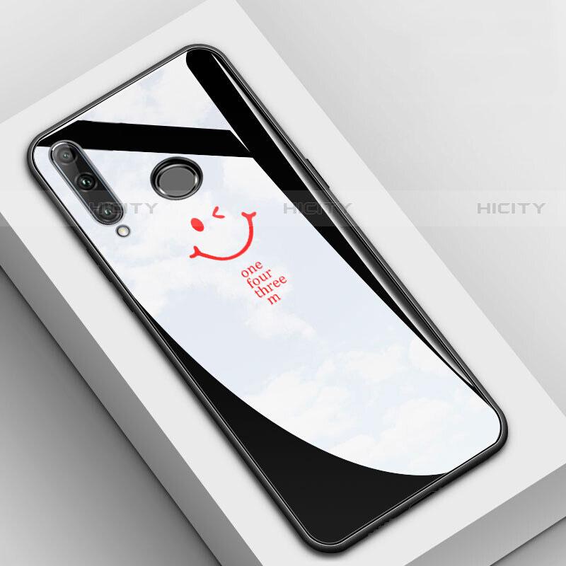 Coque Contour Silicone et Vitre Motif Fantaisie Miroir Etui Housse pour Huawei Honor 20 Lite Noir Plus