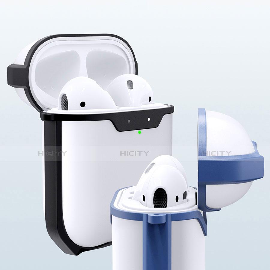 Coque de Protection en Silicone avec Mousqueton pour Boitier de Charge de Airpods C05 Plus