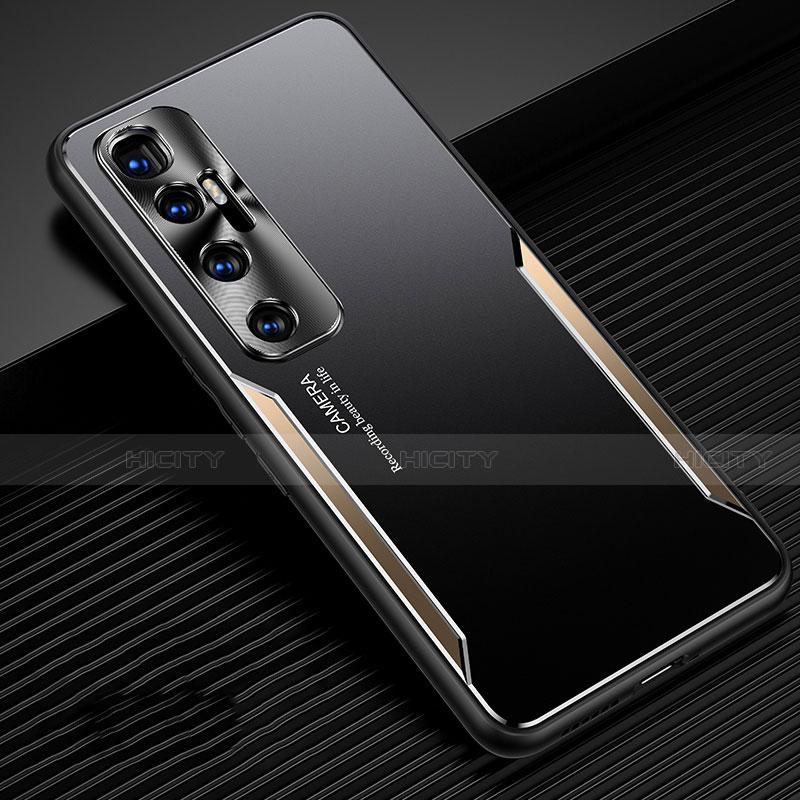 Coque Luxe Aluminum Metal Housse Etui M01 pour Xiaomi Mi 10 Ultra Or Plus