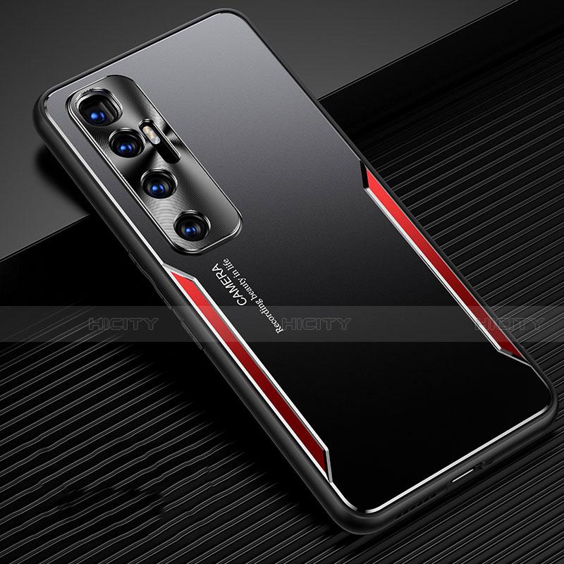 Coque Luxe Aluminum Metal Housse Etui M01 pour Xiaomi Mi 10 Ultra Rouge Plus