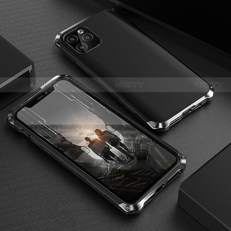 coque luxe aluminum metal housse etui pour apple iphone 11 pro max plus 4
