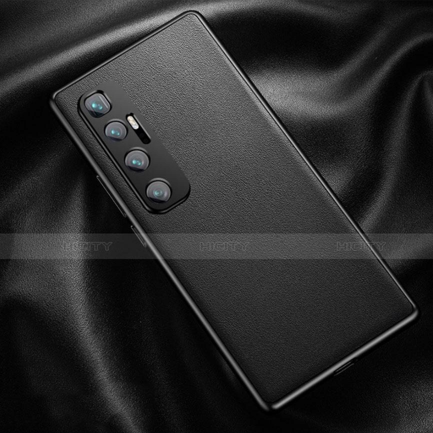 Coque Luxe Cuir Housse Etui pour Xiaomi Mi 10 Ultra Noir Plus