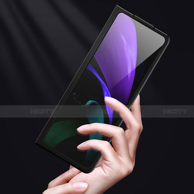 Coque Luxe Cuir Housse Etui S01 pour Samsung Galaxy Z Fold2 5G Plus