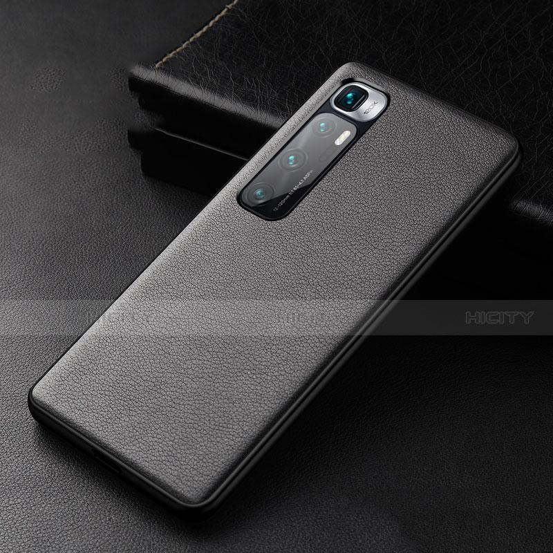 Coque Luxe Cuir Housse Etui S01 pour Xiaomi Mi 10 Ultra Noir Plus