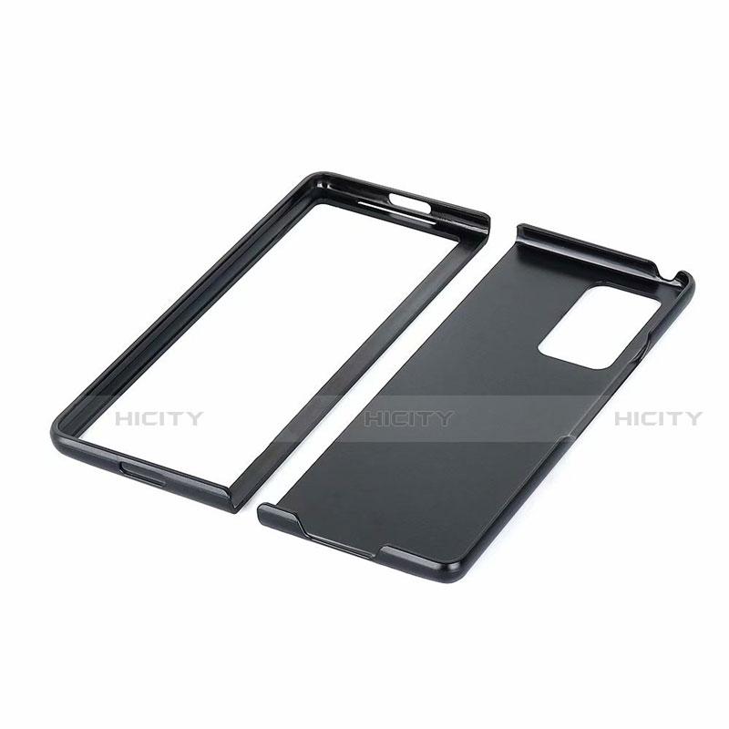 Coque Luxe Cuir Housse Etui S03 pour Samsung Galaxy Z Fold2 5G Plus