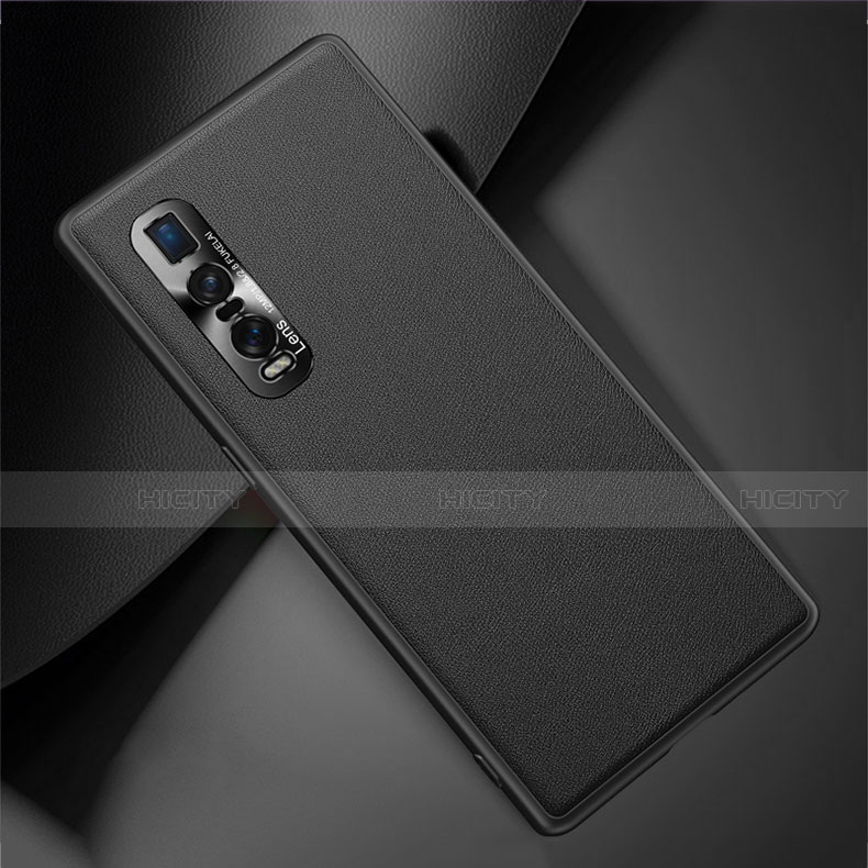 Coque Luxe Cuir Housse Etui U01 pour Oppo Find X2 Pro Plus