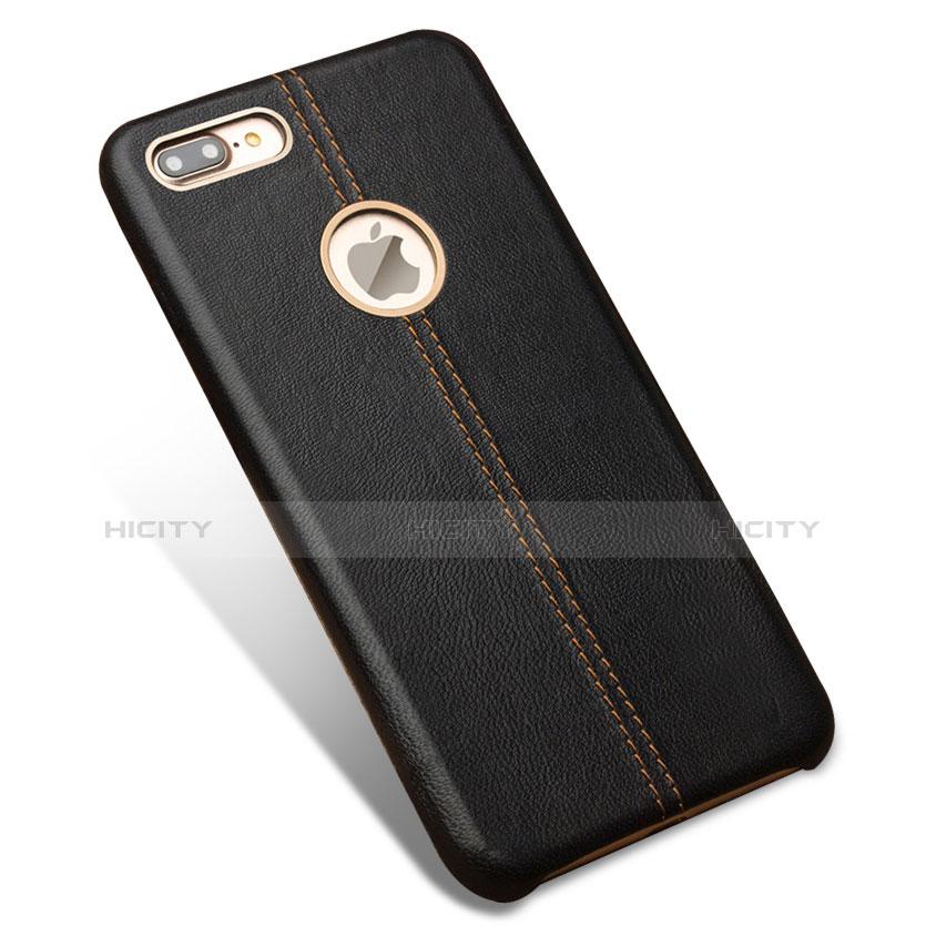 coque luxe cuir housse l01 pour apple iphone 7 plus noir 13451 plus 2