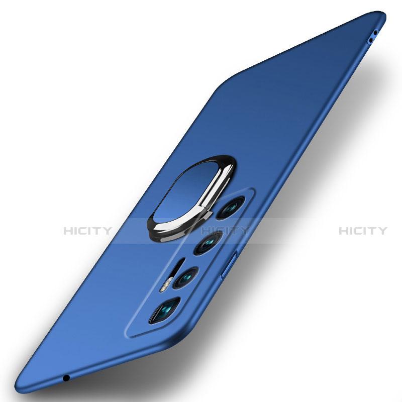 Coque Plastique Housse Etui Rigide Mat avec Support Bague Anneau Aimante Magnetique A01 pour Xiaomi Mi 10 Ultra Plus