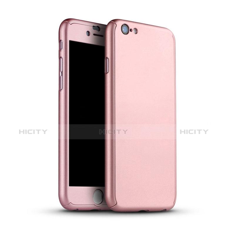 Coque Plastique Mat Protection Integrale 360 Degres Avant et Arriere Etui Housse M02 pour Apple iPhone 6 Plus Plus