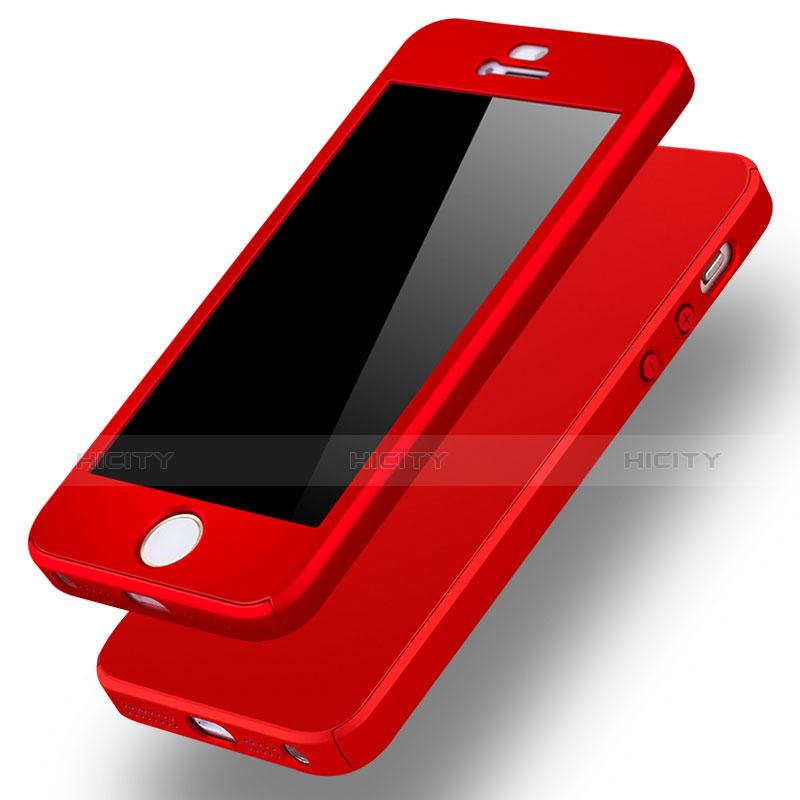 coque plastique mat protection integrale 360 degres avant et arriere etui housse pour apple iphone se plus 6