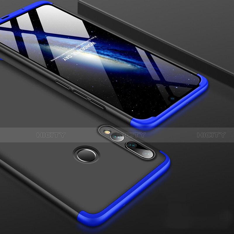 Coque Plastique Mat Protection Integrale 360 Degres Avant et Arriere Etui Housse pour Huawei Honor 20 Lite Bleu et Noir Plus