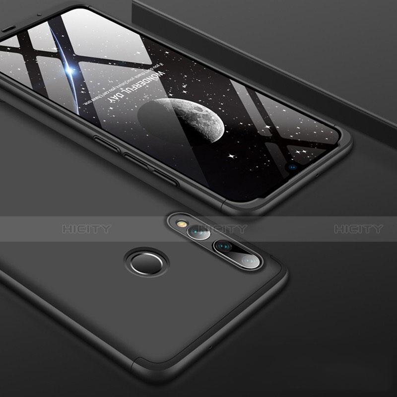 Coque Plastique Mat Protection Integrale 360 Degres Avant et Arriere Etui Housse pour Huawei Honor 20 Lite Noir Plus