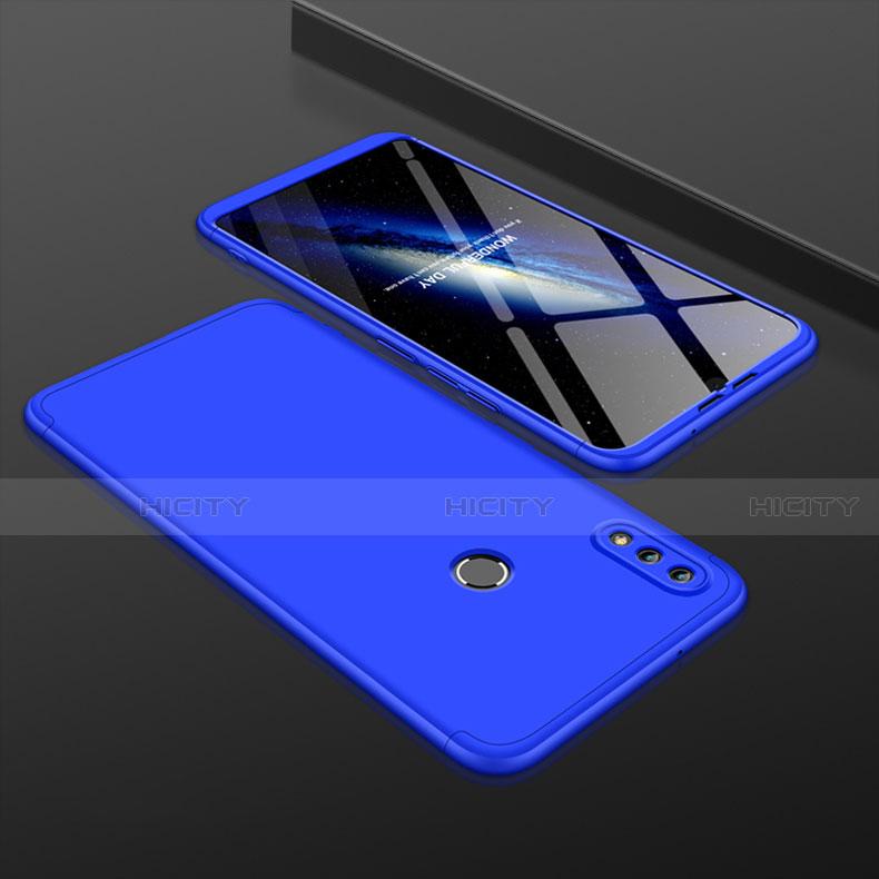 Coque Plastique Mat Protection Integrale 360 Degres Avant et Arriere Etui Housse pour Huawei Honor 8X Bleu Plus