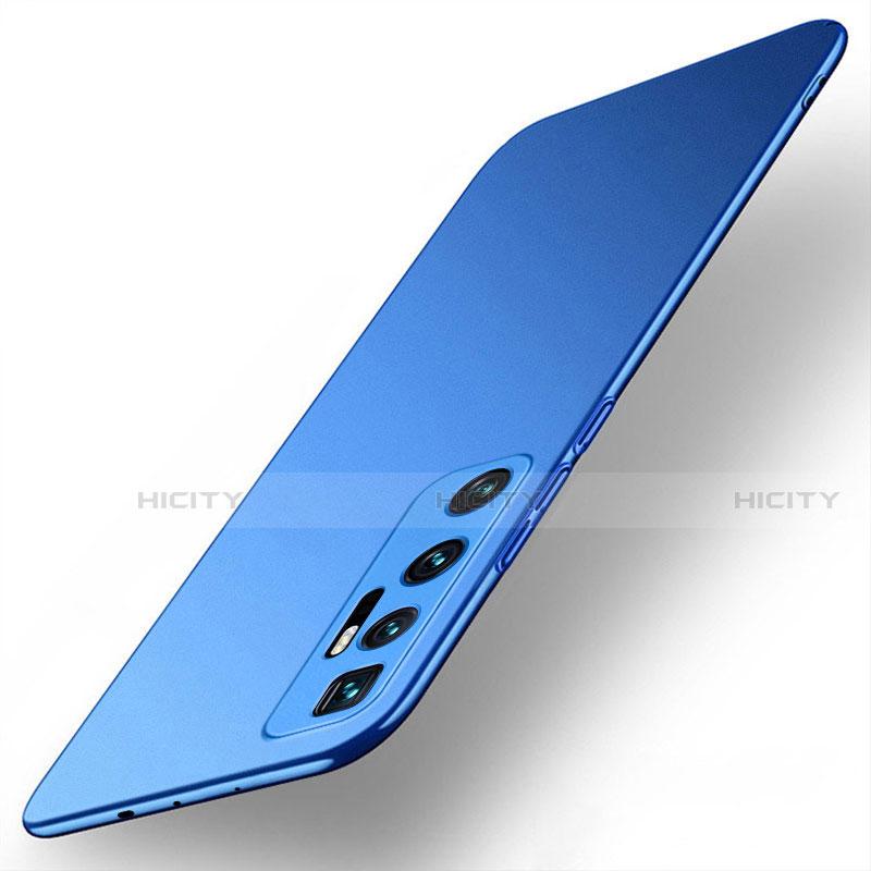 Coque Plastique Rigide Etui Housse Mat M01 pour Xiaomi Mi 10 Ultra Bleu Plus
