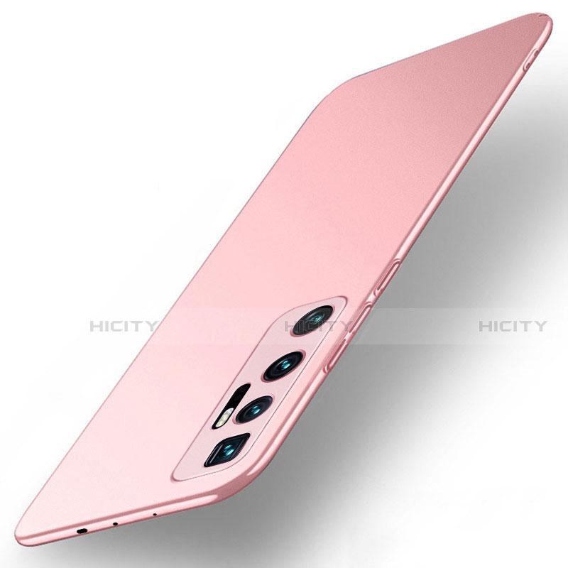 Coque Plastique Rigide Etui Housse Mat M01 pour Xiaomi Mi 10 Ultra Or Rose Plus