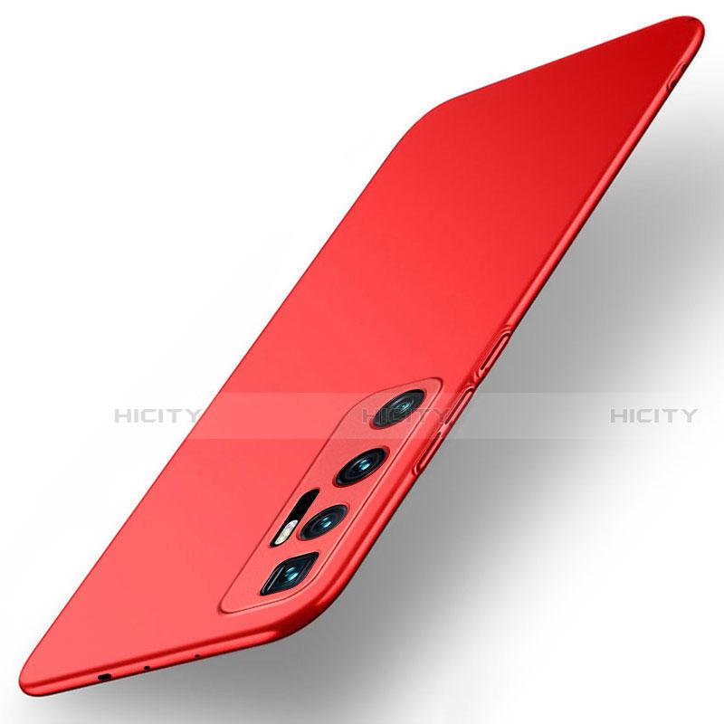 Coque Plastique Rigide Etui Housse Mat M01 pour Xiaomi Mi 10 Ultra Rouge Plus