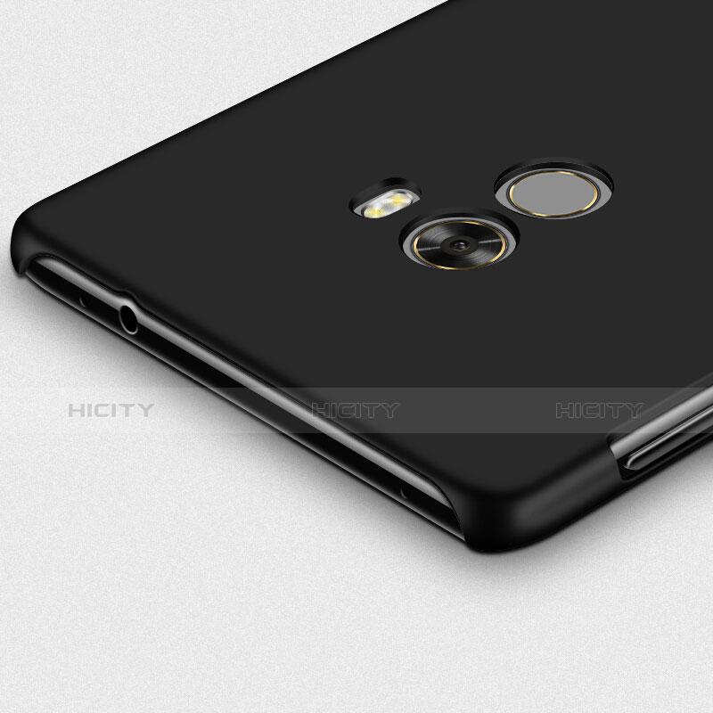 Coque Plastique Rigide Mat et Support Bague Anneau pour Xiaomi Mi Mix Noir Plus