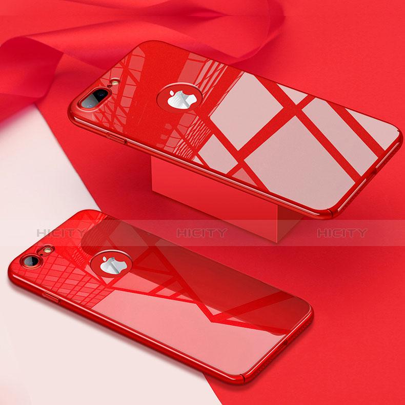 coque plastique rigide miroir pour apple iphone 7 plus rouge 13436 plus 3