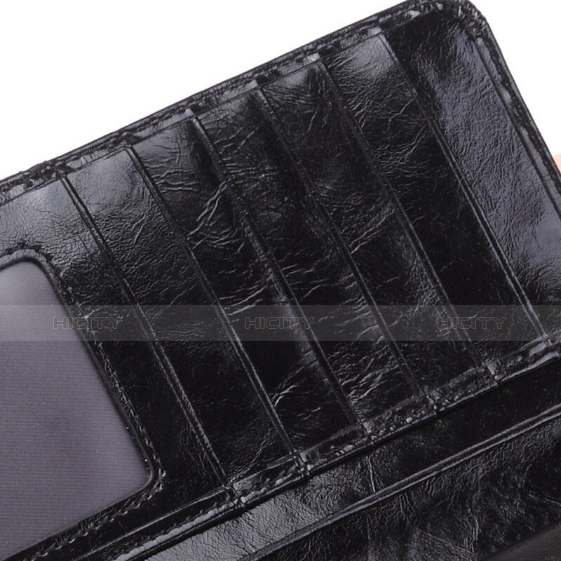 Coque Pochette Cuir Universel H02 Noir Plus