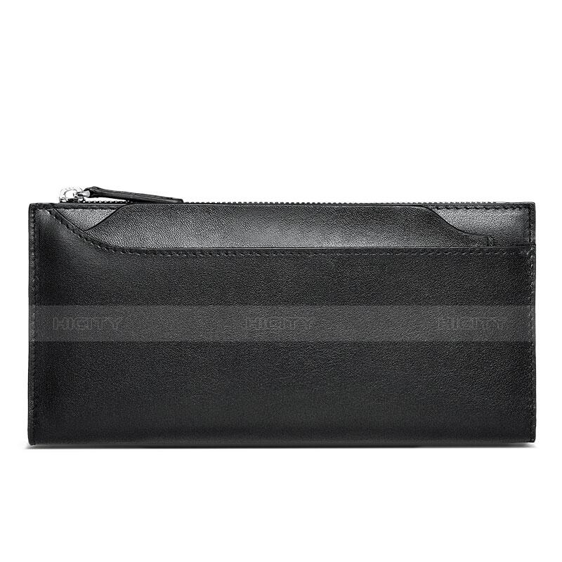 Coque Pochette Cuir Universel H30 Noir Plus