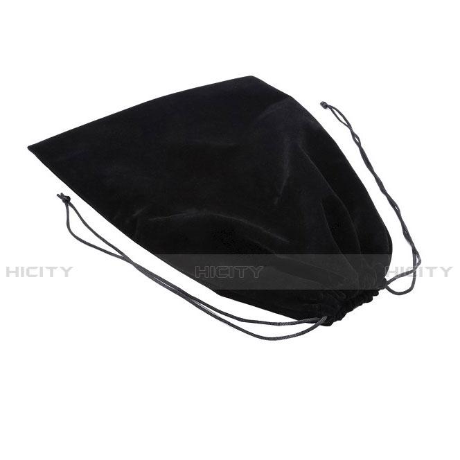Coque Pochette Velour pour Huawei MatePad 10.4 Noir Plus
