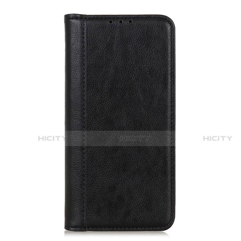 Coque Portefeuille Livre Cuir Etui Clapet L01 pour Motorola Moto G9 Plus Noir Plus