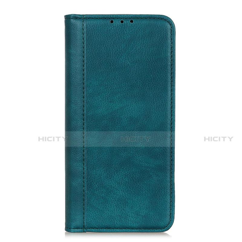 Coque Portefeuille Livre Cuir Etui Clapet L01 pour Motorola Moto G9 Plus Vert Plus