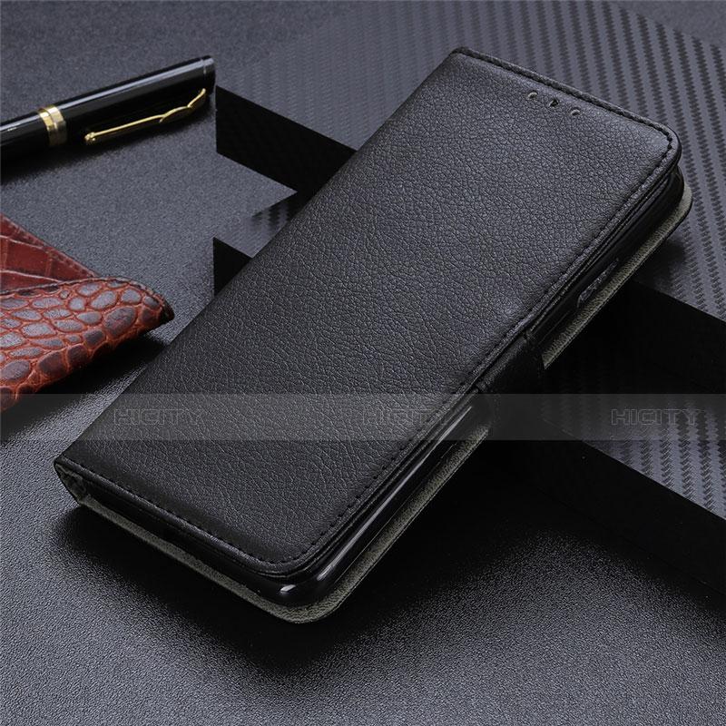 Coque Portefeuille Livre Cuir Etui Clapet L03 pour Motorola Moto G9 Plus Noir Plus