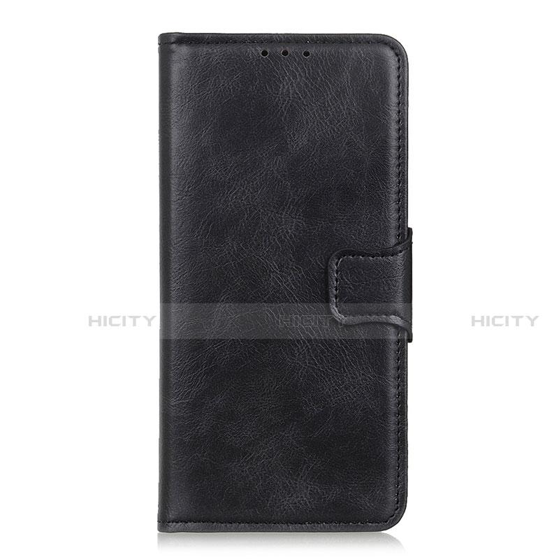 Coque Portefeuille Livre Cuir Etui Clapet L03 pour Oppo Reno3 A Noir Plus