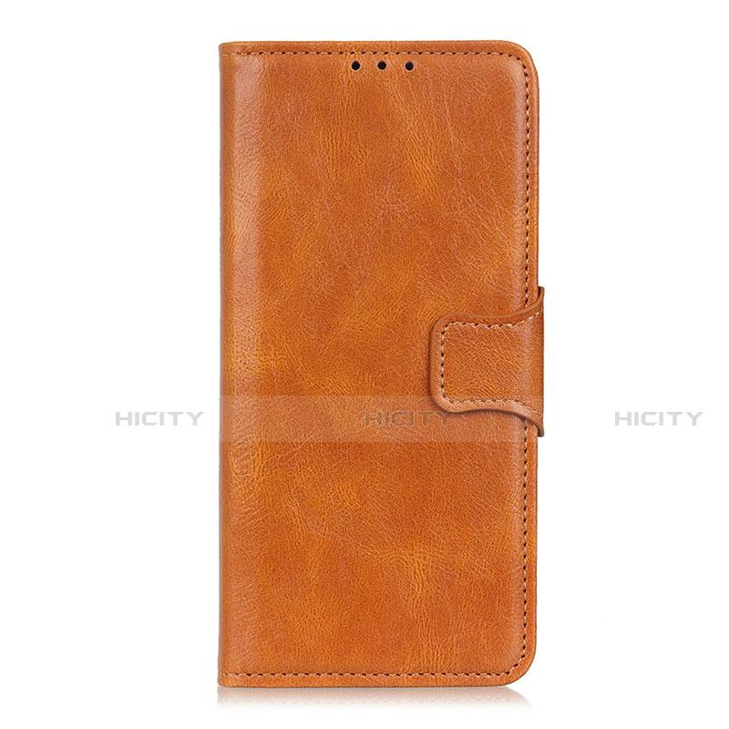 Coque Portefeuille Livre Cuir Etui Clapet L03 pour Oppo Reno3 A Orange Plus