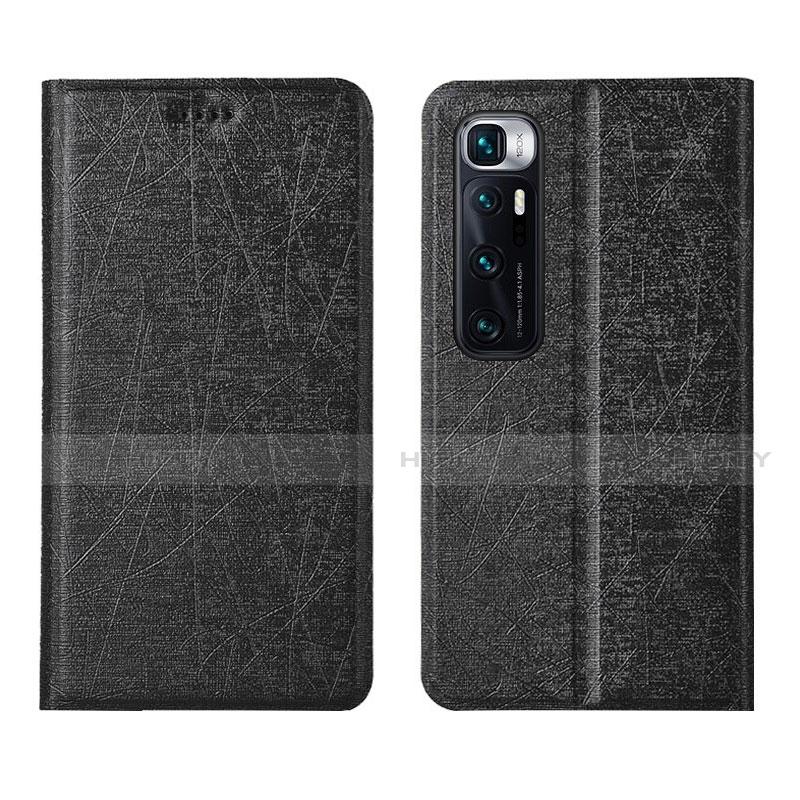 Coque Portefeuille Livre Cuir Etui Clapet L03 pour Xiaomi Mi 10 Ultra Noir Plus