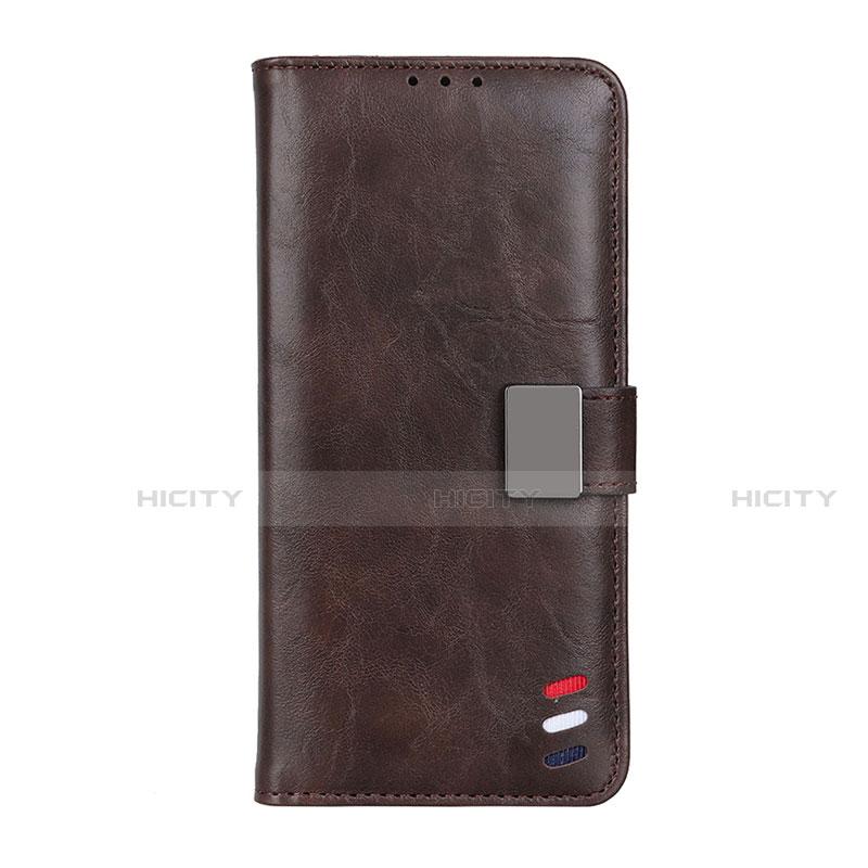 Coque Portefeuille Livre Cuir Etui Clapet L04 pour Motorola Moto G9 Plus Marron Plus