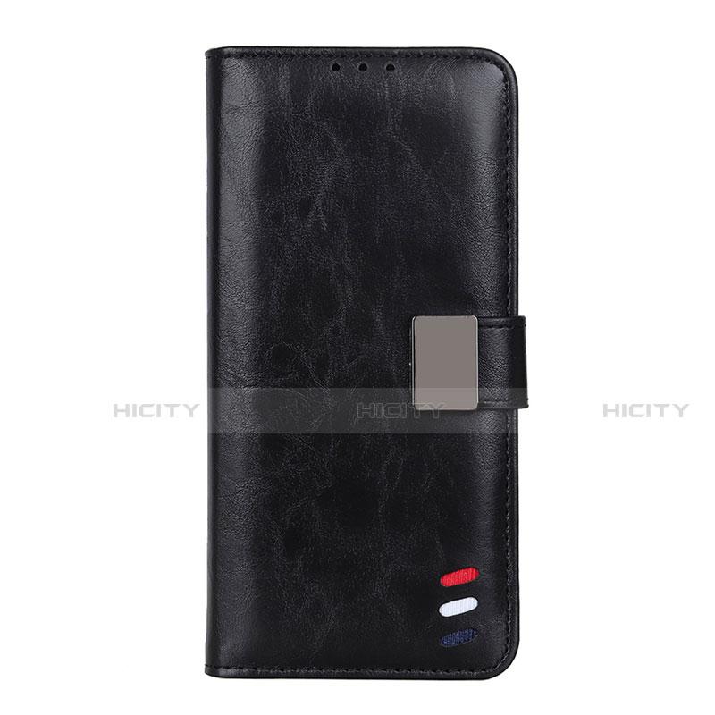 Coque Portefeuille Livre Cuir Etui Clapet L04 pour Motorola Moto G9 Plus Noir Plus