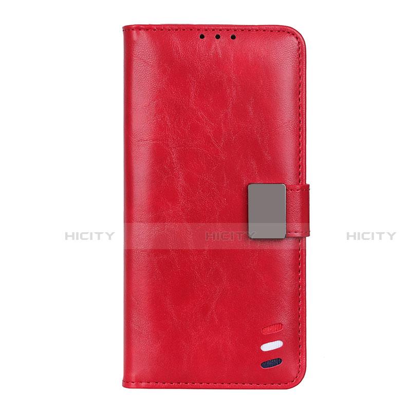 Coque Portefeuille Livre Cuir Etui Clapet L04 pour Motorola Moto G9 Plus Rouge Plus